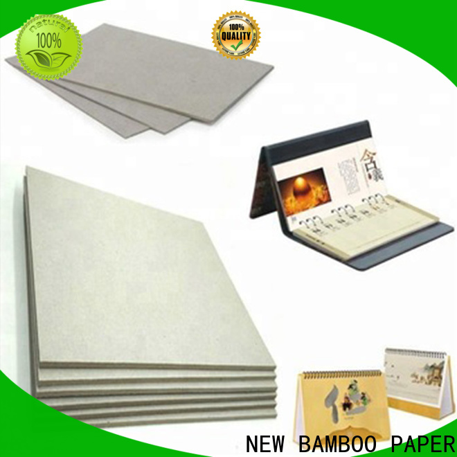 NEW BAMBOO PAPER single grey board paper for wholesale for boxes