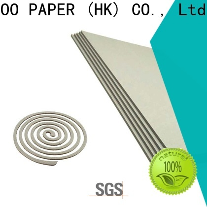 NEW BAMBOO PAPER quality 2mm grey board check now for shirt accessories