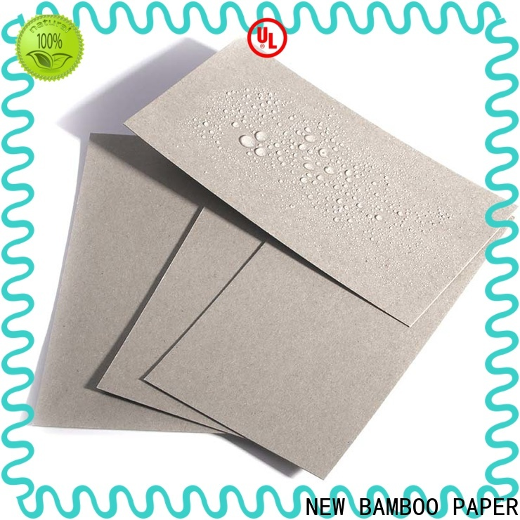 NEW BAMBOO PAPER single pe coated board manufacturer for waterproof items