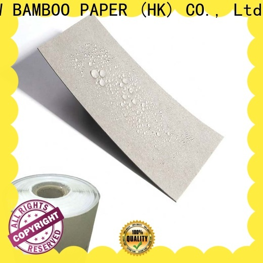 NEW BAMBOO PAPER commercial pe coated paperboard supplier for sheds packaging