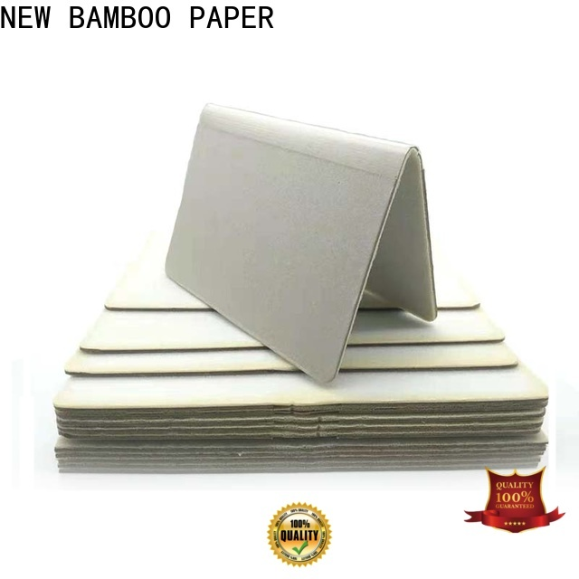 NEW BAMBOO PAPER quality foam board sizes for hardcover books