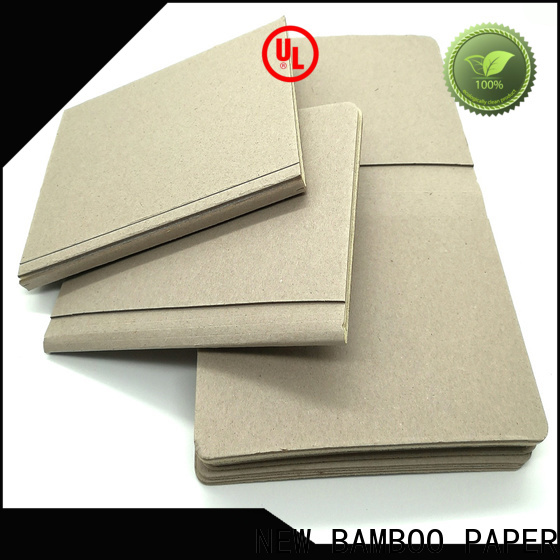 NEW BAMBOO PAPER newly foam board sizes factory price for folder covers