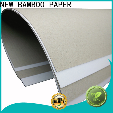 NEW BAMBOO PAPER good-package duplex board sizes order now for cereal boxes