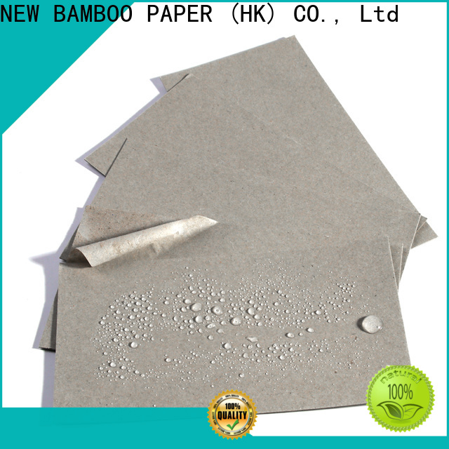 NEW BAMBOO PAPER fine- quality one side pe coated paper price  supply for trash cans