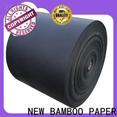hot-sale black laminated chipboard one widely-use for booking binding