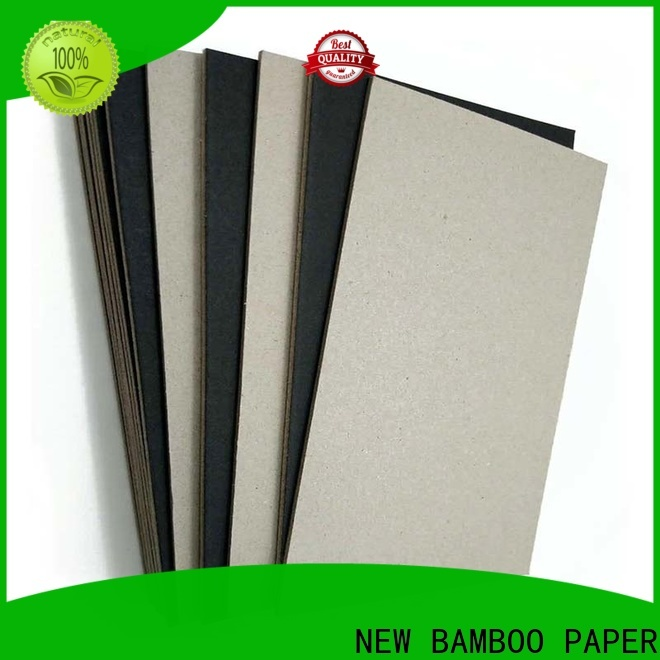 NEW BAMBOO PAPER new-arrival black laminated chipboard widely-use for gift box