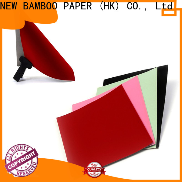 NEW BAMBOO PAPER industry-leading flocked paper wholesale widely-use for decoration