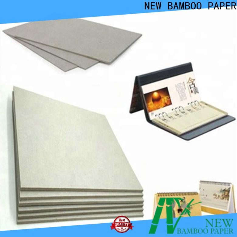 NEW BAMBOO PAPER nice gray board for desk calendars