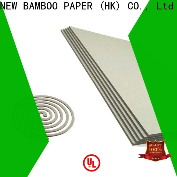 NEW BAMBOO PAPER quality gray board bulk production for desk calendars