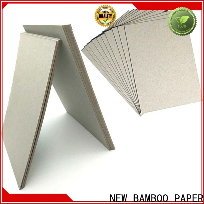 NEW BAMBOO PAPER quality laminated paperboard free design for hardcover books