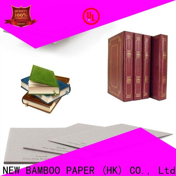 NEW BAMBOO PAPER superior carton gris factory price for folder covers
