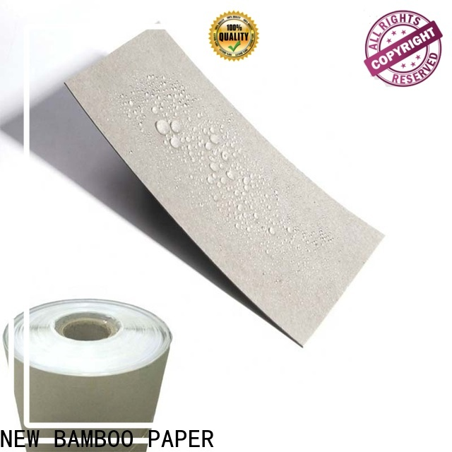 NEW BAMBOO PAPER board one side pe coated paper price long-term-use for packaging