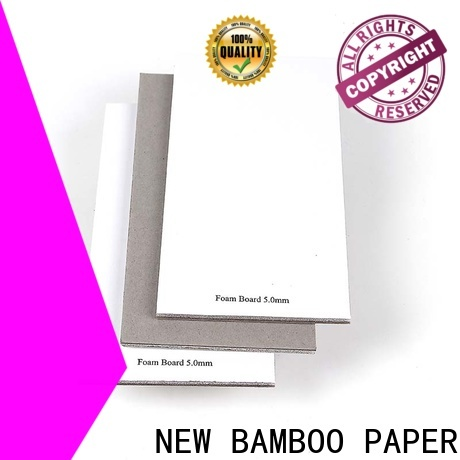NEW BAMBOO PAPER cover 5mm foam board buy now for arch files
