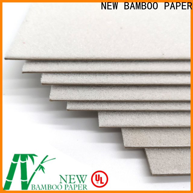 NEW BAMBOO PAPER laminated large foam board for desk calendars