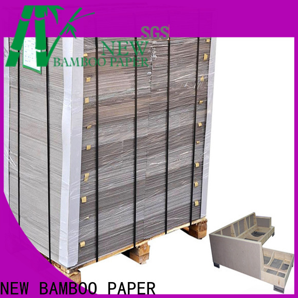 NEW BAMBOO PAPER calendar carton gris from manufacturer for hardcover books