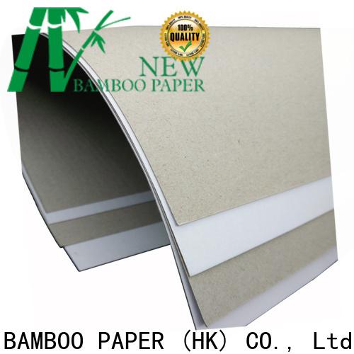 duplex board white back board bulk production for crafts