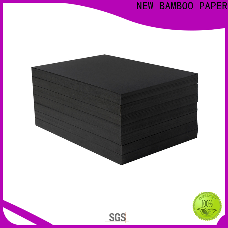 NEW BAMBOO PAPER fantastic  black backing paper bulk production for photo frame