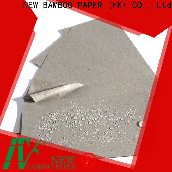 NEW BAMBOO PAPER quality pe coated paper sheets order now for sheds packaging