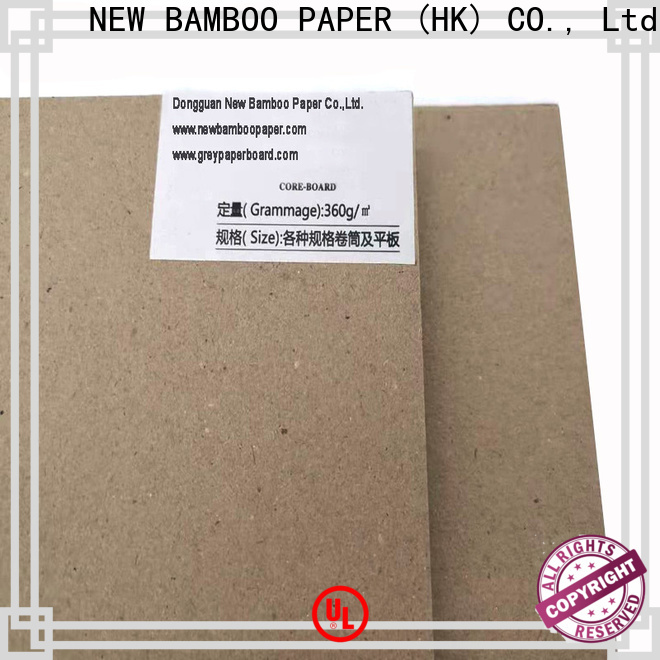 NEW BAMBOO PAPER newly grey board for sale at discount for shirt accessories