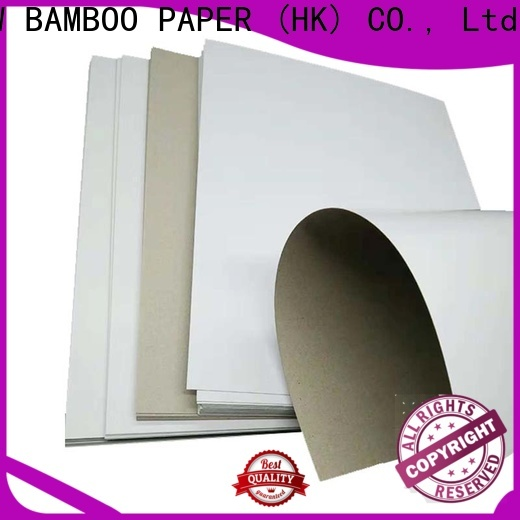 NEW BAMBOO PAPER boxes duplex board bulk production for shoe boxes