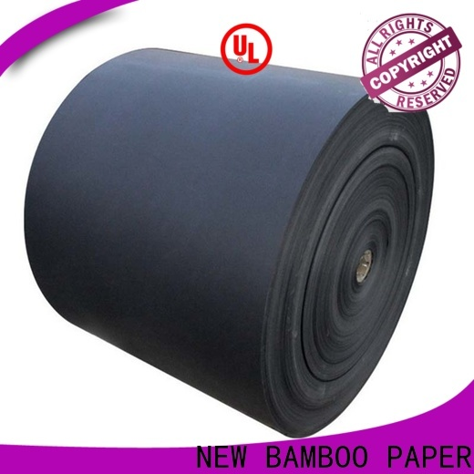 hot-sale black paper sheet one free design for hang tag