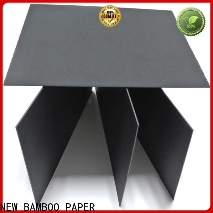 NEW BAMBOO PAPER electronics sturdy black board free design for perfume boxes