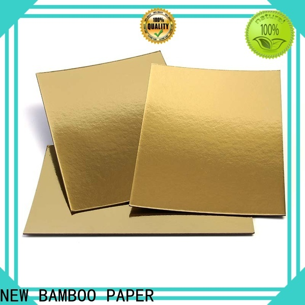 NEW BAMBOO PAPER new-arrival Cake Board supplier bulk production for stationery