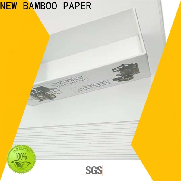 NEW BAMBOO PAPER duplex duplex board uses free design for gift box binding