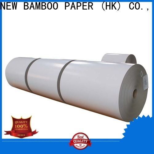 NEW BAMBOO PAPER new-arrival coated duplex board free quote for toothpaste boxes