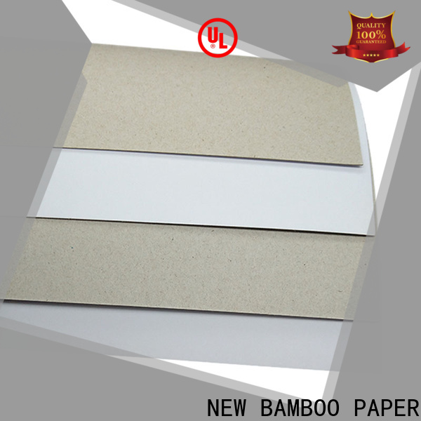 NEW BAMBOO PAPER hot-sale what is duplex board used for long-term-use for shoe boxes