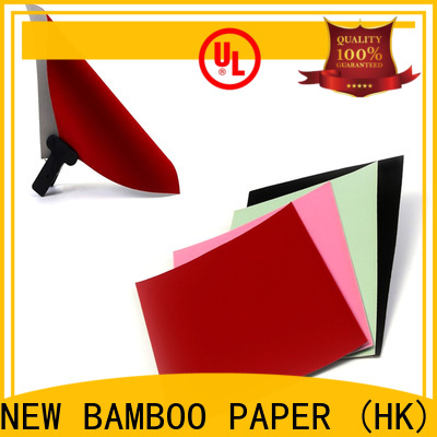 NEW BAMBOO PAPER flocked white flocked paper effectively for crafts