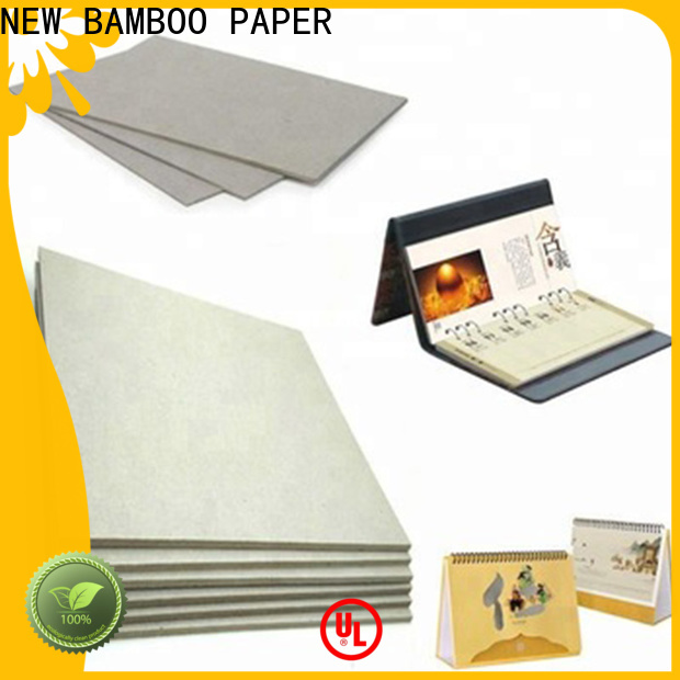 superior gray chipboard material for T-shirt inserts