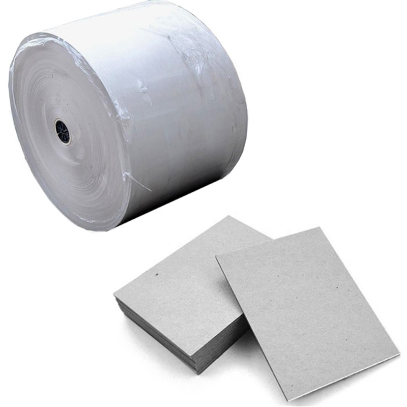 787x1092mm Paper Gray Cardboard Sheets / Rolls SGS Certification