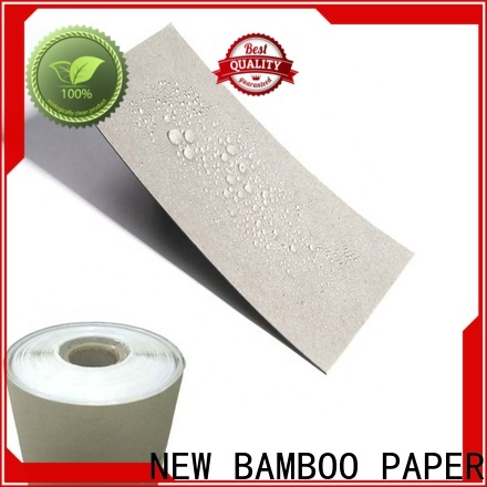 NEW BAMBOO PAPER useful pe coated paperboard vendor for waterproof items