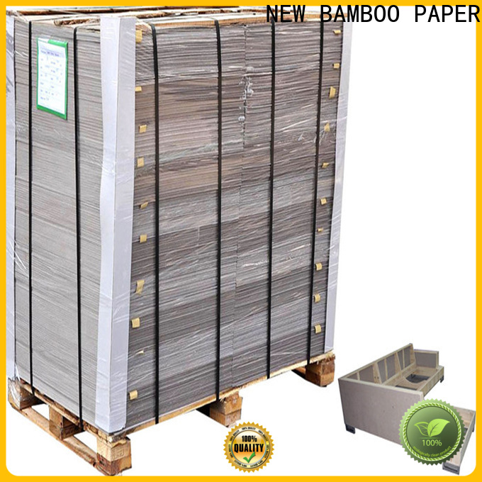 NEW BAMBOO PAPER resistance grey chipboard sheets for folder covers
