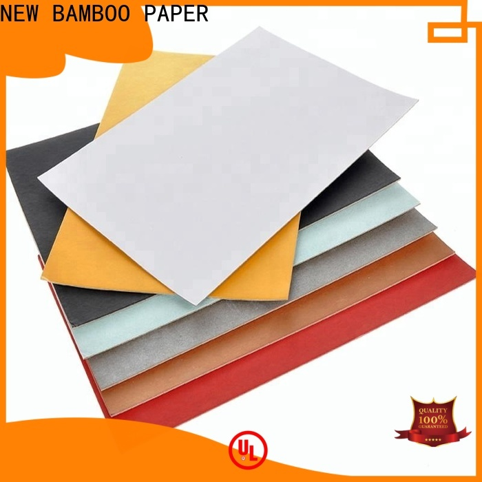 NEW BAMBOO PAPER back duplex board white back bulk production for cereal boxes