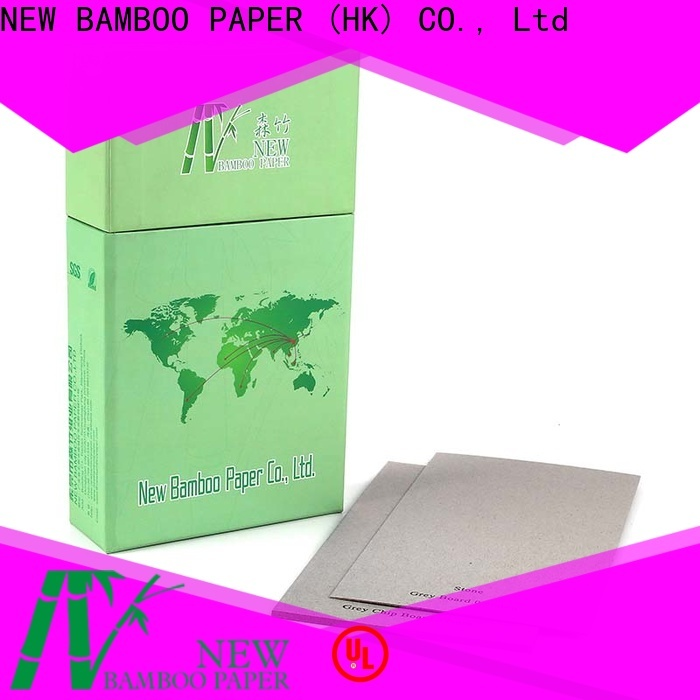 NEW BAMBOO PAPER high-quality straw board paper from manufacturer for packaging