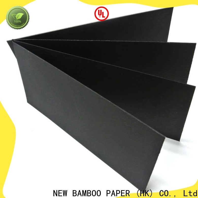 useful black paper roll cardboard free quote for silk printing