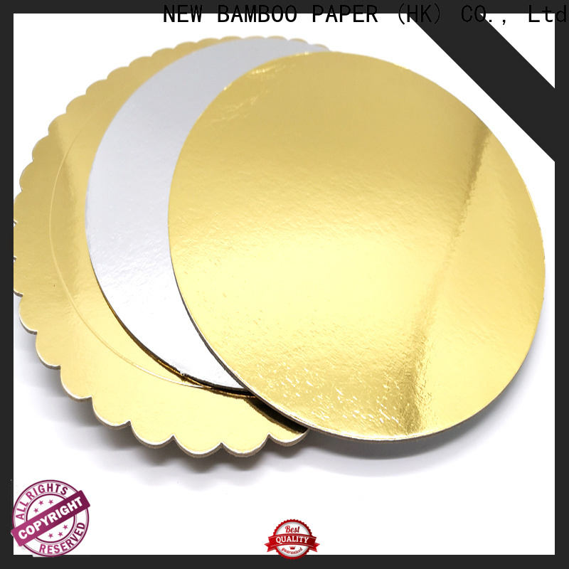 NEW BAMBOO PAPER board Cake Boards Wholesale Suppliers factory price for bread packaging