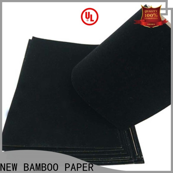 NEW BAMBOO PAPER pape red flocked paper producer for paper bags