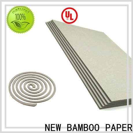 NEW BAMBOO PAPER quality grey board thickness inquire now for stationery