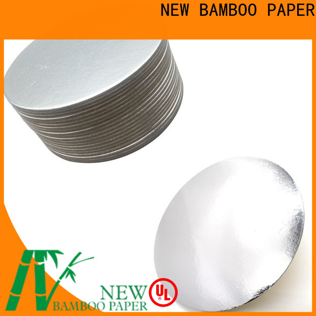 NEW BAMBOO PAPER nice Cake Board supplier check now for cake board