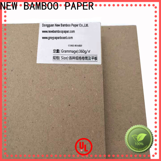 NEW BAMBOO PAPER laminated grey board thickness for shirt accessories