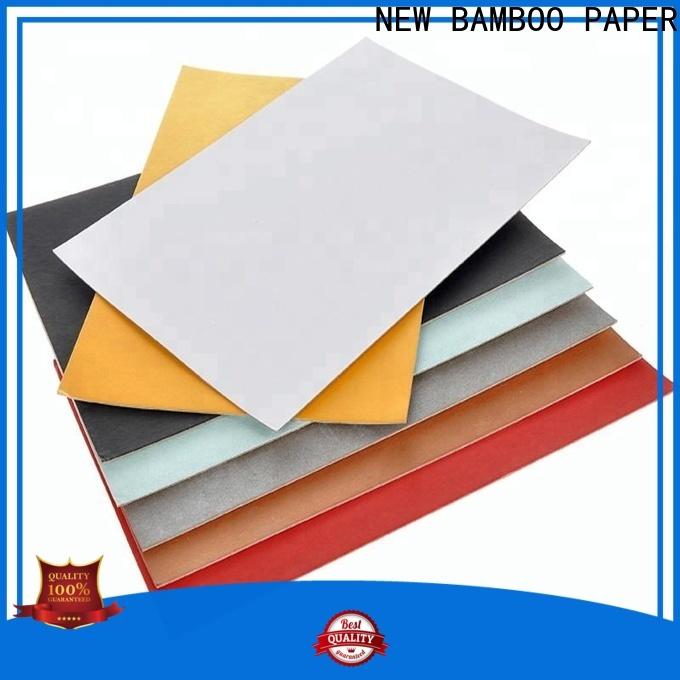 NEW BAMBOO PAPER coated duplex board grey back bulk production for toothpaste boxes