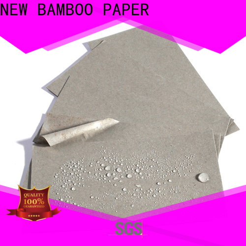 NEW BAMBOO PAPER durable pe coated paper price producer for sheds packaging