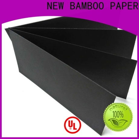 commercial black paper board chip factory for silk printing