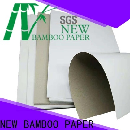 NEW BAMBOO PAPER white what is duplex board used for for gift box binding