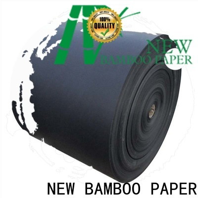 NEW BAMBOO PAPER scientific black backing paper free quote for speaker gasket