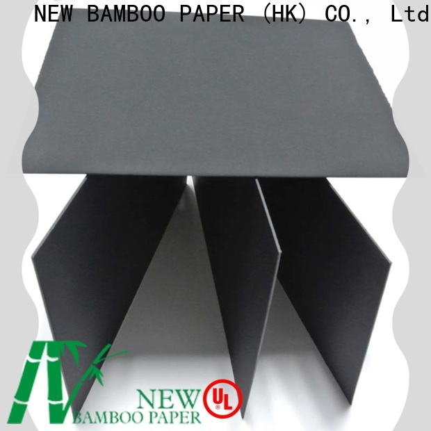 quality large sheets of black paper recycled bulk production for perfume boxes
