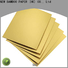 NEW BAMBOO PAPER nice gold cake boards bulk production for packaging
